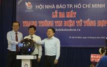 Hội Nhà báo TP.HCM ra mắt trang thông tin điện tử riêng