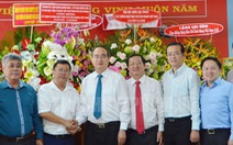Lãnh đạo TP.HCM thăm cơ quan báo chí nhân Ngày báo chí cách mạng Việt Nam