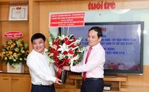 Phó bí thư Trần Lưu Quang: 'Mong Tuổi Trẻ luôn được người dân tìm đến thông tin chính thống'