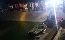 2 cha con đi câu cá chết dưới hồ nước