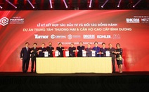 Phát Đạt - Danh Khôi hợp tác đầu tư dự án Trung tâm thương mại & Căn hộ cao cấp Bình Dương