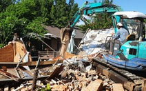 Tháo dỡ các hạng mục vi phạm của Gia Trang resort hơn 7.200m2