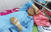 1 cán bộ đón con bị đánh đổ máu sau khi gửi tố cáo lên Thành ủy Thái Bình