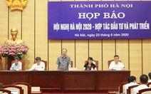 116 dự án đầu tư vào Hà Nội với tổng vốn 15,5 tỉ USD
