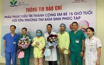 Phẫu thuật tim bẩm sinh cho bé sơ sinh chỉ 15 giờ tuổi