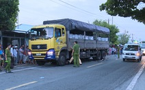 Lấn đường đụng thẳng vào đầu xe tải, 2 thanh niên chết tại chỗ