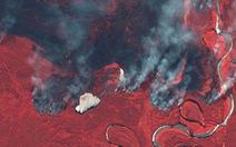 Cháy rừng bất thường ở Bắc Cực, lo khí nhà kính tăng vọt