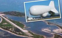 Đài Loan tính đưa khí cầu theo dõi nhất cử nhất động của Trung Quốc trên biển