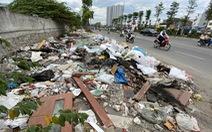 'Đại lộ' ngàn tỉ Chu Văn An dở dang, nhiều nơi ngập ngụa rác