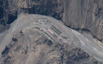 Ảnh vệ tinh lộ ra các công trình sát biên giới với Ấn Độ của Trung Quốc tăng ồ ạt
