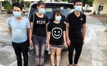 Cách ly 4 người bơi sông từ Trung Quốc, nhập cảnh Việt Nam trái phép