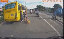 Đình chỉ 10 ngày tài xế xe buýt trả khách giữa quốc lộ 1