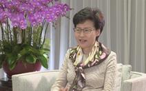 Bà Carrie Lam 'thấy nhẹ nhõm' vì Trung Quốc ủng hộ luật an ninh với Hong Kong
