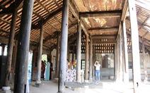Căn nhà hoang tàn của thi sĩ Ưng Bình Thúc Giạ Thị được công nhận di tích