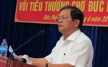 Bộ Chính trị cảnh cáo Bí thư Quảng Ngãi Lê Viết Chữ