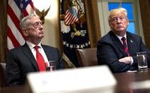 Bị cựu bộ trưởng quốc phòng chỉ trích, ông Trump: 'Vui vì ông đã ra đi'