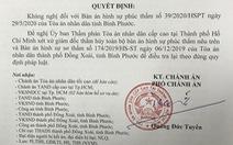 Bị cáo tự tử sau khi tòa tuyên án: Chánh án TAND cấp cao ở TP.HCM kháng nghị 6 'điểm mờ'