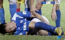 Pha vào bóng khiến Hải Huy gãy chân, nguy cơ nghỉ hết mùa giải V-League 2020