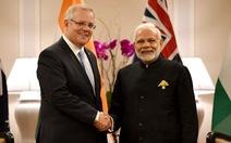 Ấn, Úc bắt tay đối trọng Trung Quốc