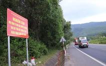 Đà Nẵng: Lập gác chắn, tuần tra ngăn xẻ đất rừng làm nghĩa trang trái phép