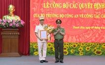 Phó cục trưởng Cục An ninh mạng giữ chức giám đốc Công an tỉnh Thanh Hóa