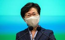 Bà Carrie Lam: 'Hong Kong không đủ sức chịu đựng thêm hỗn loạn'