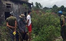 Bé trai 5 tuổi chết trong nhà hoang, hai tay bị trói