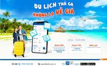 Du lịch thả ga với thẻ tín dụng quốc tế Sacombank