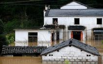 Mưa to 3 ngày, sông lớn thứ 3 Trung Quốc có nguy cơ gây lũ lụt