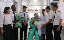 Bệnh nhân 91 - phi công người Anh 'rất vui' khi trở lại bầu trời quen thuộc