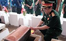 Đưa liệt sĩ từ núi đá, hang sâu về an nghỉ tại nghĩa trang Vị Xuyên