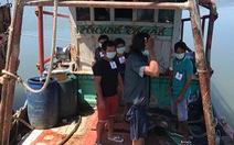 Cảnh sát biển Thái Lan bắt 6 thuyền viên cùng tàu cá Việt Nam
