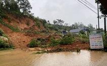 Mưa lớn kéo dài, nhiều tuyến đường ở Lai Châu tê liệt