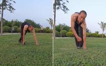 Người đàn ông đi bằng 4 chi như khỉ trong suốt 30 năm để rèn luyện sức khỏe