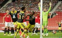 Manchester United mất 2 điểm đáng tiếc ở phút 90+6