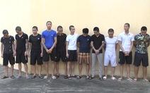 Bắt 11 thanh niên dùng dao kiếm đánh nhau như phim hành động