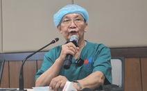 GS.BS Trần Đông A: 'Ca phẫu thuật đang diễn ra như dự tính, sức khỏe hai bé ổn định'