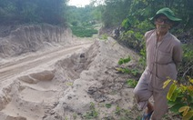 'Cát tặc' lại hoành hành ở vùng Bảy Núi, An Giang