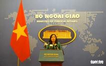 Việt Nam lên tiếng về tuyên bố lập trường của Mỹ ở Biển Đông và yêu sách của Trung Quốc