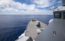 Mỹ tuyên bố hết trung lập trong vấn đề Biển Đông, điều tàu chiến thách thức Trung Quốc