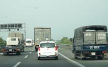Cao tốc TP.HCM - Trung Lương sau 10 năm sử dụng mới được sửa chữa