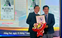 Bệnh viện Đa khoa Đồng Nai đoạt giải thưởng Bạch kim về điều trị đột quỵ