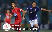 Kết quả, bảng xếp hạng V-League 2020 17-7: HAGL lên thứ ba, Hà Nội có ba điểm, CLB TP.HCM bại trận