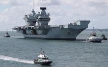 Trung Quốc cảnh báo Anh không điều tàu sân bay, 'kéo bè kéo cánh' với Mỹ