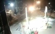 Sập tường khi đang lắp ống nước, 1 công nhân chết, 3 người bị thương