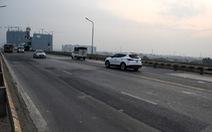 Từ 6h ngày 28-7: cấm xe qua cầu Thăng Long để sửa mặt cầu