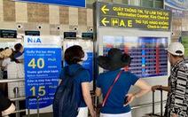 Sân bay Nội Bài hạn chế loa thông báo chuyến bay từ 30-7