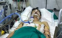 Cứu tài xế xe ôm bị cướp đâm vào ngực, sườn, lưng cướp xe, 20 phút sau mới tới được bệnh viện