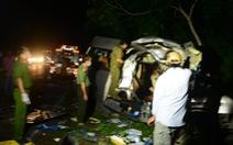Xe khách giảm tốc độ 80km/h xuống 69km/h trong 1 phút trước khi xảy ra tai nạn