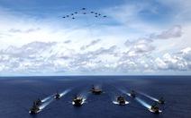 Nhóm 'Tứ giác kim cương' tập trận trên biển, gởi thông điệp cứng tới Trung Quốc